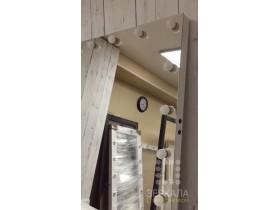 """Выполненная работа: безрамное зеркало 120х100 см с подсветкой буквой """"П"""" (г. Екатеринбург)"""